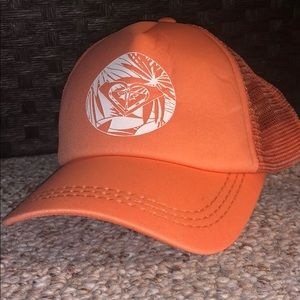 Coral Roxy Mesh Hat